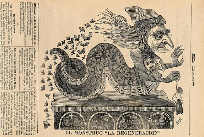 el monstruo de la regeneración