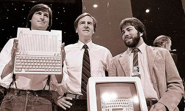 steve jobs sculley y wozniak